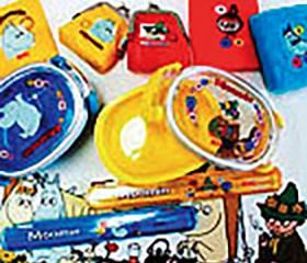 コインケース、ミラー、リストバンド、ランチケース、箸、ランチョンマット
